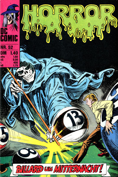 Cover for Horror (BSV - Williams, 1972 series) #52