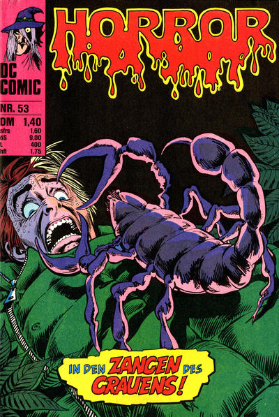 Cover for Horror (BSV - Williams, 1972 series) #53
