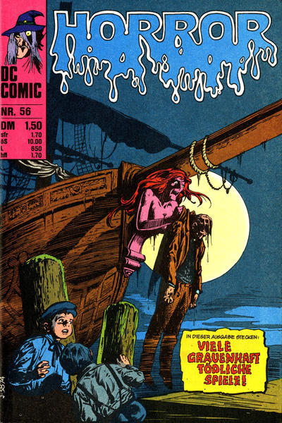 Cover for Horror (BSV - Williams, 1972 series) #56