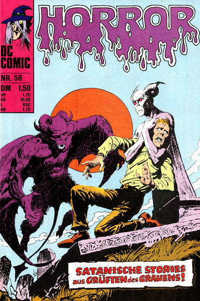Cover for Horror (BSV - Williams, 1972 series) #58