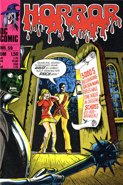 Cover for Horror (BSV - Williams, 1972 series) #59