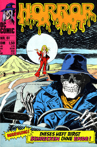 Cover for Horror (BSV - Williams, 1972 series) #61