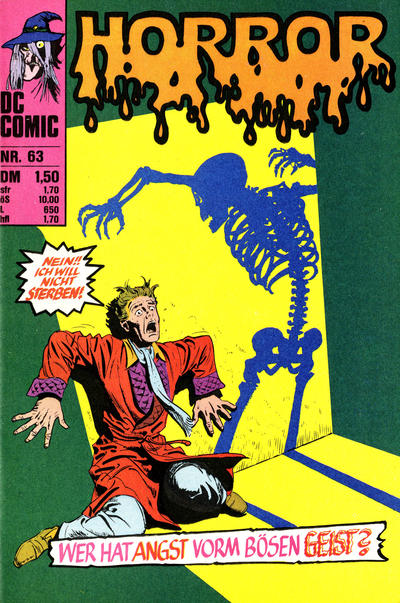 Cover for Horror (BSV - Williams, 1972 series) #63