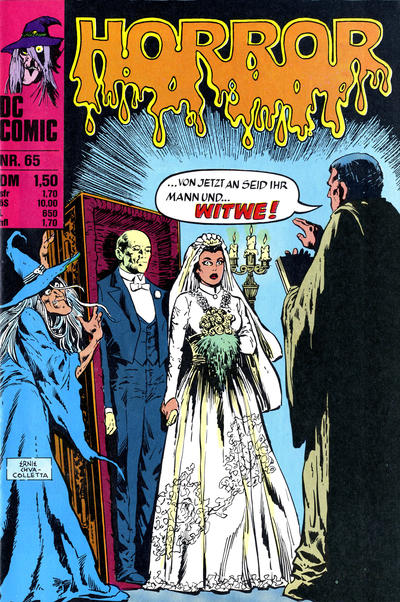 Cover for Horror (BSV - Williams, 1972 series) #65