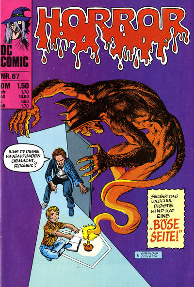 Cover for Horror (BSV - Williams, 1972 series) #67