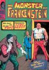 Cover for Das Monster von Frankenstein (BSV - Williams, 1974 series) #17