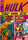 Cover for Hulk (BSV - Williams, 1974 series) #4