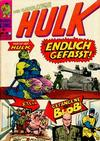 Cover for Hulk (BSV - Williams, 1974 series) #7
