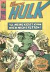 Cover for Hulk (BSV - Williams, 1974 series) #21