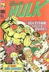 Cover for Hulk (BSV - Williams, 1974 series) #25