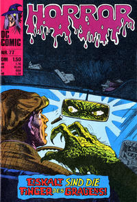 Cover Thumbnail for Horror (BSV - Williams, 1972 series) #77