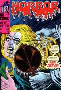 Cover Thumbnail for Horror (BSV - Williams, 1972 series) #78