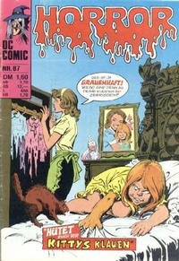 Cover Thumbnail for Horror (BSV - Williams, 1972 series) #87