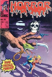 Cover Thumbnail for Horror (BSV - Williams, 1972 series) #89