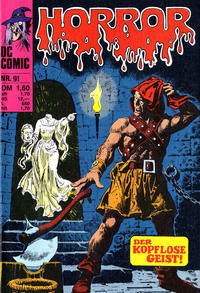 Cover Thumbnail for Horror (BSV - Williams, 1972 series) #91