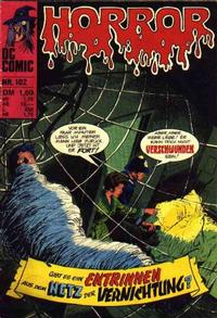 Cover Thumbnail for Horror (BSV - Williams, 1972 series) #102