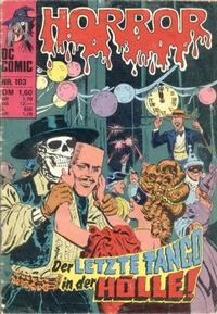 Cover Thumbnail for Horror (BSV - Williams, 1972 series) #103