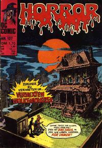 Cover Thumbnail for Horror (BSV - Williams, 1972 series) #107