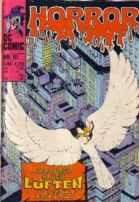 Cover Thumbnail for Horror (BSV - Williams, 1972 series) #111