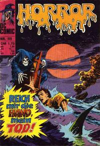 Cover Thumbnail for Horror (BSV - Williams, 1972 series) #115