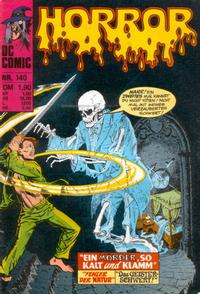 Cover Thumbnail for Horror (BSV - Williams, 1972 series) #140