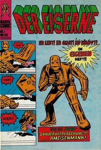 Cover for Der Eiserne (BSV - Williams, 1975 series) #1