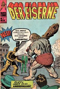 Cover for Der Eiserne (BSV - Williams, 1975 series) #2
