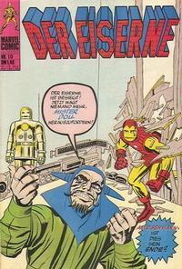 Cover Thumbnail for Der Eiserne (BSV - Williams, 1975 series) #10