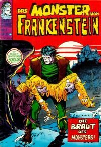 Cover Thumbnail for Das Monster von Frankenstein (BSV - Williams, 1974 series) #2