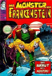 Cover Thumbnail for Frankenstein (BSV - Williams, 1974 series) #2