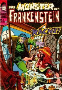 Cover Thumbnail for Das Monster von Frankenstein (BSV - Williams, 1974 series) #3