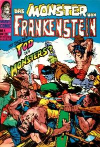 Cover Thumbnail for Das Monster von Frankenstein (BSV - Williams, 1974 series) #4