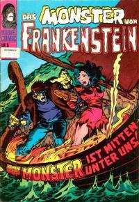 Cover Thumbnail for Frankenstein (BSV - Williams, 1974 series) #5