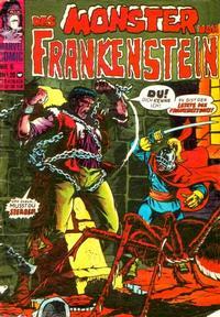 Cover Thumbnail for Das Monster von Frankenstein (BSV - Williams, 1974 series) #6