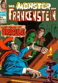 Cover Thumbnail for Das Monster von Frankenstein (BSV - Williams, 1974 series) #8