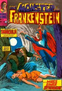 Cover Thumbnail for Das Monster von Frankenstein (BSV - Williams, 1974 series) #9
