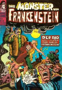 Cover Thumbnail for Das Monster von Frankenstein (BSV - Williams, 1974 series) #10