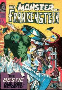 Cover Thumbnail for Das Monster von Frankenstein (BSV - Williams, 1974 series) #15