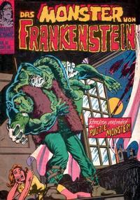 Cover Thumbnail for Das Monster von Frankenstein (BSV - Williams, 1974 series) #16