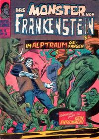 Cover Thumbnail for Das Monster von Frankenstein (BSV - Williams, 1974 series) #18