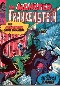 Cover Thumbnail for Frankenstein (BSV - Williams, 1974 series) #19