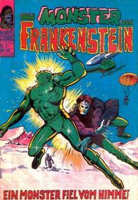 Cover Thumbnail for Frankenstein (BSV - Williams, 1974 series) #21