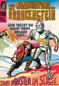 Cover Thumbnail for Das Monster von Frankenstein (BSV - Williams, 1974 series) #23
