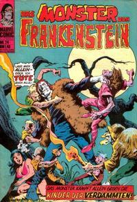 Cover Thumbnail for Das Monster von Frankenstein (BSV - Williams, 1974 series) #24