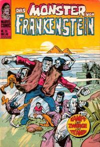 Cover Thumbnail for Frankenstein (BSV - Williams, 1974 series) #25