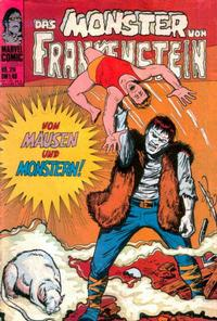 Cover Thumbnail for Das Monster von Frankenstein (BSV - Williams, 1974 series) #29