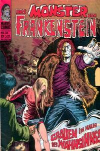 Cover Thumbnail for Frankenstein (BSV - Williams, 1974 series) #32