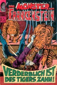 Cover Thumbnail for Das Monster von Frankenstein (BSV - Williams, 1974 series) #33