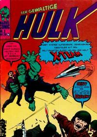 Cover Thumbnail for Hulk (BSV - Williams, 1974 series) #3
