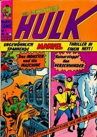 Cover Thumbnail for Hulk (BSV - Williams, 1974 series) #4